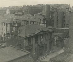 Children's shelter, 87 Montrose Street prior to demolition in 1949 to make way for the James Weir building (ref: OP 2/1/76/3)