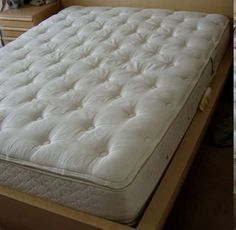 How to Clean a Mattress. You spend about a third of your life on your mattress, so this is one household item you should take careful steps to keep clean. Regular mattress cleaning can help reduce allergens in your bedroom and keep your. Mattress Stains, Heated Mattress Pad, Mattress Cleaning, Cama Box, Twin Xl Sheets, Bokashi, Box Bed, Pillow Top Mattress, Futon Mattress