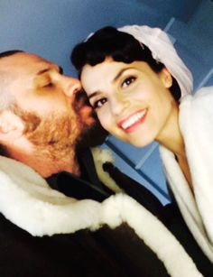#KISSFORVEDAY – Tom Hardy & Charlotte Riley