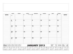 Desk Planner at Calendar | Ignition Marketing Corporate Gifts