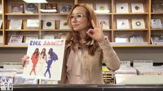 See our record shopping trip with Tori Amos