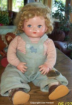 "~ Effanbee ""Mickey"" Doll ~"