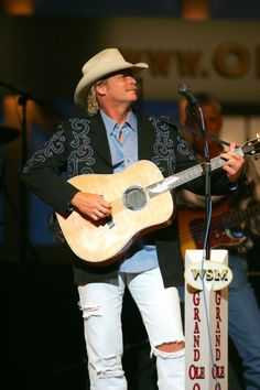 Alan Jackson at the Grand Ole Opry.    - **** Brought to you by the Attica Heritage Days Festival, celebrating the people and history of Attica, Indiana, held annually on the third Saturday of September, in downtown Attica. - http://atticaheritage.wordpress.com