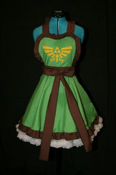 triforce dress #legend of Zelda