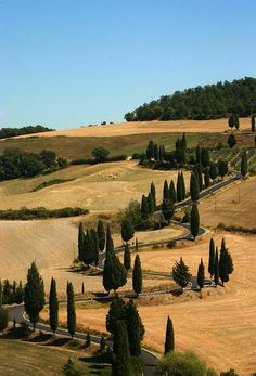 Montichiello, Tuscany / La Toscana