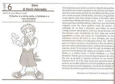 EBD Infantil é bom demais!!!: ATIVIDADES - TEMA: HERÓIS DA BÍBLIA