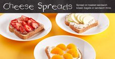 Check out these recipes fresh from the Pampered Chef Inspiration page: Garden Veggie, Fresh Strawberry, Honey-Nut Spreads