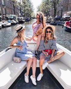 "18.9k Likes, 227 Comments - P o l i n a   П о л и н а (@polabur) on Instagram: ""Fun times in Amsterdam with my girls @astoldbychristi @sophiemay 👯🍾💫 лето в этом году в Амстердаме…"""