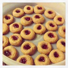 Gluten Free Goodies for a Happier Tummy: Coconut Flour Peanut Butter and Jelly Cookies! Gluten Free! Grain Free!