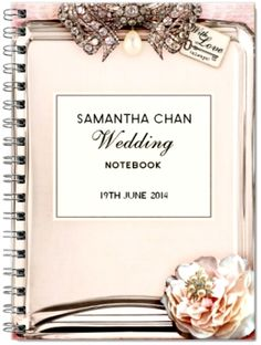 love labels diamant wedding notebook funkypigeoncom