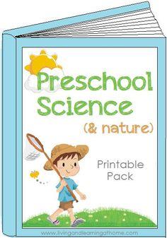 Free Preschool Science & Nature Printable Pack