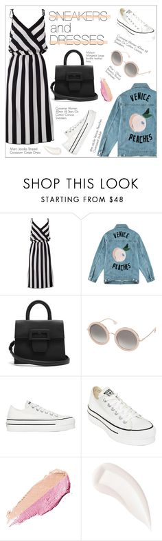 """""""Venice Peaches"""" by ire2003 ❤ liked on Polyvore featuring Marc Jacobs, Être Cécile, Maison Margiela, Alice + Olivia, Converse and By Terry"""