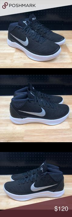 f37142e81ed Nike Kobe AD Mid TB Promo Mens Basketball Sz 15 New Nike Kobe AD Mid TB  Promo Mens Basketball Shoes - Black   White Logos - 942521-002 - Men s Size  15 ...