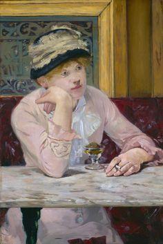 Édouard Manet: L'absinthe, 1877