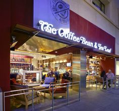 Coffee Bean and Tea Leaf is my most desired coffee and hang out spot.  I love the quality and taste of their coffee.