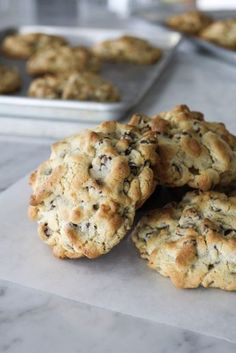 Levain Bakery Chocolate Chip Cookie Recipe. Best copycat for the famous Levain Bakery cookies in New York City!