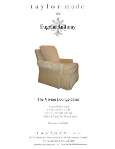 The Vivian Lounge Chair