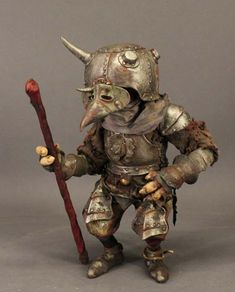 Roem Baaba by Toby Froud Son of Brian Froud, the great illustrator, and model… Brian Froud, Magical Creatures, Fantasy Creatures, Goblin King, Goblin Art, Sculptures, Lion Sculpture, The Dark Crystal, Gnome