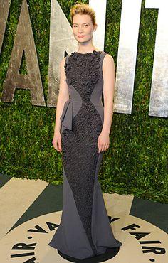Mia Wasikowska Vanity Fair Oscars Party