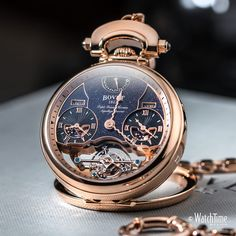 """473 Likes, 3 Comments - WatchTime México (@watchtimemexico) on Instagram: """"The prestigious @Bovet1822 Rising Star Triple Time Zone Tourbillon. Ø46mm, 18K red gold case,…"""""""