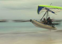This is a FIB – flying inflatable boat. Photographer Matthias Ziegler used it in his photo-documentary Zanzibar: http://islandsofafrica.rupamedia.com