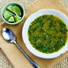 Salt Week - 'Spinach Lentil and Lemon Soup with Taklia'. - Janella Purcell