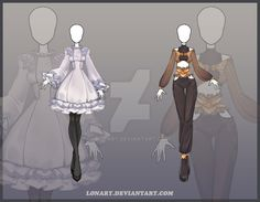 [Open] Design adopt_127-128 by Lonary.deviantart.com on @DeviantArt