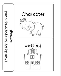 Story Elements Worksheet- title, character, setting