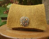 Items similar to 20% off SALE Champagne Rose Felted Wool Bag on Etsy