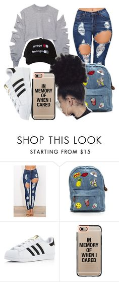 """""""Untitled #108"""" by dalijacraig ❤ liked on Polyvore featuring adidas and Casetify"""