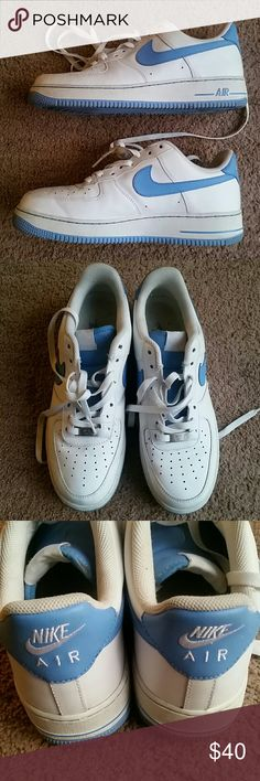 Mens Nike Air Force Shoes In good condition mens Air Force Ones. A really good buy for this price. Nike Shoes Athletic Shoes