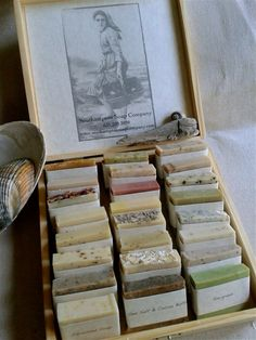 Southampton Soap Sampler   25 All Natural by southamptonsoaps, $60.00  I ordered this!  I want to try every one!