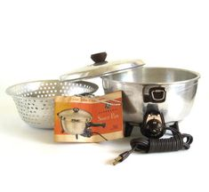 General Electric Saucepan 16s40 Small Liance 1950s Kitchen
