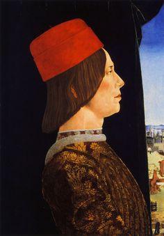 Ercole de Roberti, Giovanni II Bentivoglio.c.1474-1477.[NGOA.Washington,DC]