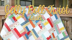 Jelly Roll Twist: Easy Quilting Tutorial – Fat Quarter Shop - to make with 30s reproduction fabric