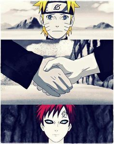 Something in me wished that Gaara was the best friend, not Sasuke.  <<< YES!!!!