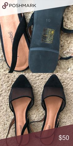 dadc6b39f Jeffrey Campbell Slingback Flats Black pointed toe sling back flats. Never  worn out of the house. Jeffrey Campbell Shoes Flats   Loafers