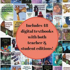 The Ultimate Kindergarten through Fifth Grade Digital Text Package for Homeschool or The Classroom