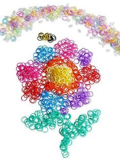 Happy Loom Bands Refill Kit~5400 Rainbow Colored & Bonus Glow In Dark + S-Clips - 90 Day Satisfaction Guarantee, 2015 Amazon Top Rated Shaped Rubber Wristbands #Toy