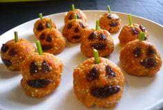 Top 10 Paleo Halloween Treats pumpkin bites