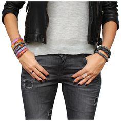 Rainbowlink bracelets