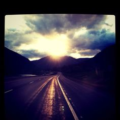 Driving home from Montana