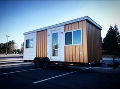 20ft Everest Tiny House on Wheels with Downstairs Bedroom by Titan Tiny Homes 0023