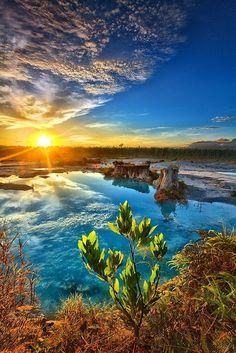 Blue Lake - Singkawang, Indonesia