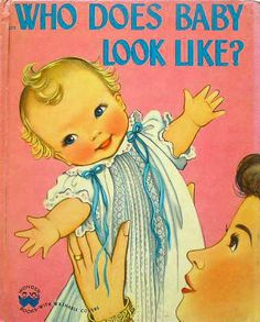 WHO DOES BABY LOOK LIKE? :Phyllis Rowand http://twin-rabbit.com/?pid=75490798