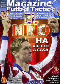 MAGAZINE #FÚTBOL TÁCTICO 14. #ElNiño ha vuelto a casa, #FernandoTorres vuelve al #Atlético.