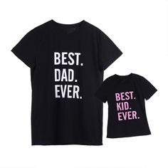 1fb62528a 2018 Family Father Daughter T-Shirt DADDY and DADDY'S GIRL Matching Shirts