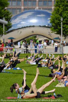 Millennium Park Workout