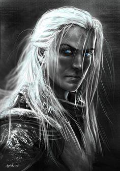 Fantasy (Drow) by outsyder10 . Los drows o elfos oscuros, Su origen puede hallarse en los dökkálfar de la mitología nórdica, que residen bajo tierra en Svartálfaheim.