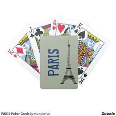 PARIS Poker Cards